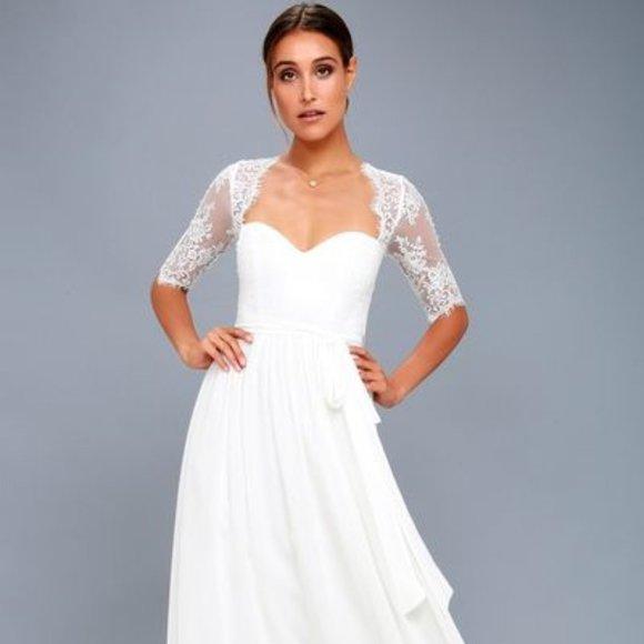 Lulus Wedding/ Prom Dress